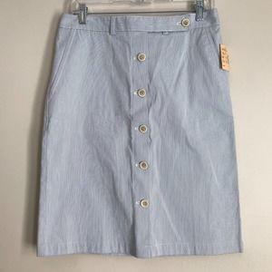 DKNY Button Down Skirt